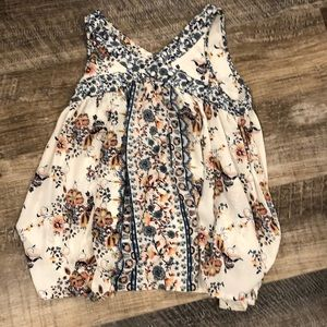 Knox Rose Floral Top - XS
